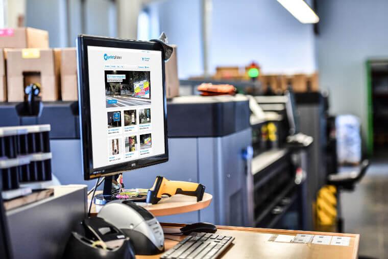 Büroräume der Printpiloten GmbH